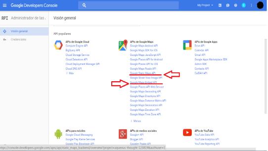 Widget Google MAps